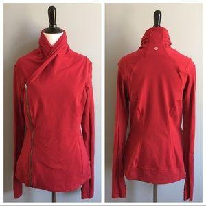 Lululemon Bhakti Yoga Jacket in cranberry